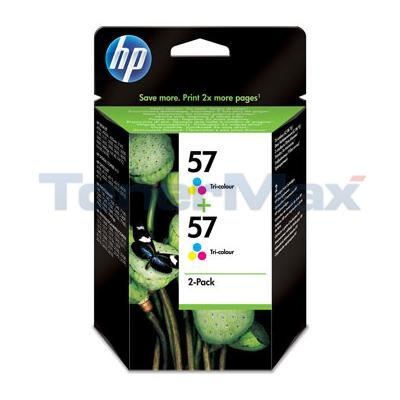 HP NO 57 INKJET CARTRIDGE TRI-COLOUR TWIN PACK